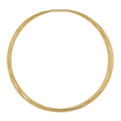 Halsreif Drahtseile 20 Fach DS20GG  Gelbgold vergoldet