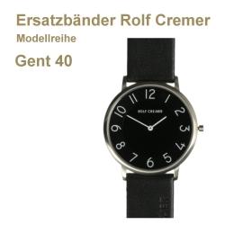 Rolf Cremer Ersatzarmband für Gent 40 Leder