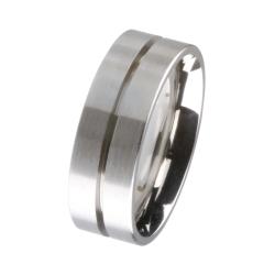Trauring / Partnerring Edelstahl R143,7 Ringgröße 70