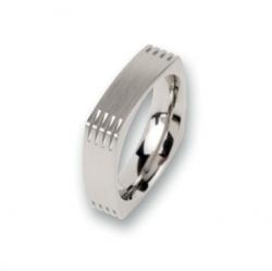 Edelstahlring  R82,6 Ringgröße 56