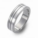 Trauring Hochzeitsring Titan mit Silber FT-05-04