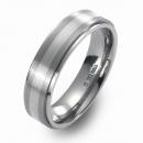 Trauring Hochzeitsring Titan mit Silber FT-22-04