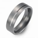 Hochzeitsring Ehering Titan mit Silber FT-38-02