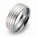 Hochzeitsring Ehering Titan mit Silber FT-29-03