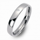 Freundschaftsringe Partner Ringe gewölbt poliert 8301-8301-4