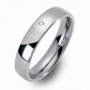 Freundschaftsringe Partner Ringe gewölbt poliert 8301-8301-5