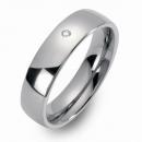 Partner Ringe Freundschaftsringe gewölbt poliert 8301-8301-6