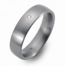Partner Ringe Freundschaftsringe gewölbt mattiert 8302-8302-6