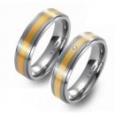 Titan Partner Ringe mit Gelbgold 2201-2202