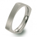 Titanring eckiges Design FT 47-03
