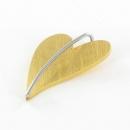 Ernstes Design Herzanhänger Gelbgold vergoldet AN277