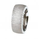 Ernstes Design Ring mit Zirkonia weiß R243WH