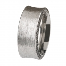 Ernstes Design Ring mit Zirkonia schwarz R244BL