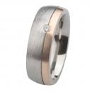 Ernstes Design Ring mit Gelbgold und Brillant R238.7
