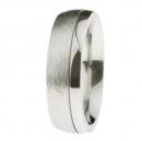 Ernstes Design Ring grob mattiert poliert R233.7