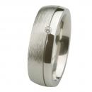 Ernstes Design Ring grob mattiert poliert Brillant R234.7