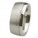Ernstes Design Ring grob mattiert poliert Brillant R234.9