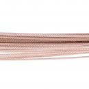 Halsreif Drahtseile 35 Fach DS35RG Rotgold vergoldet