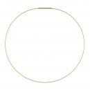 Halsreifen gelb vergoldet 1 Fach DS1GG von Ernstes Design