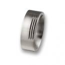 Edelstahlring ohne Stein R27,8 Ringgröße 57