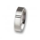 Edelstahlring R45,6 Ringgröße 56