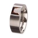 Schmuckring mit synthetischen Steinen R 159Br Ringgröße 49